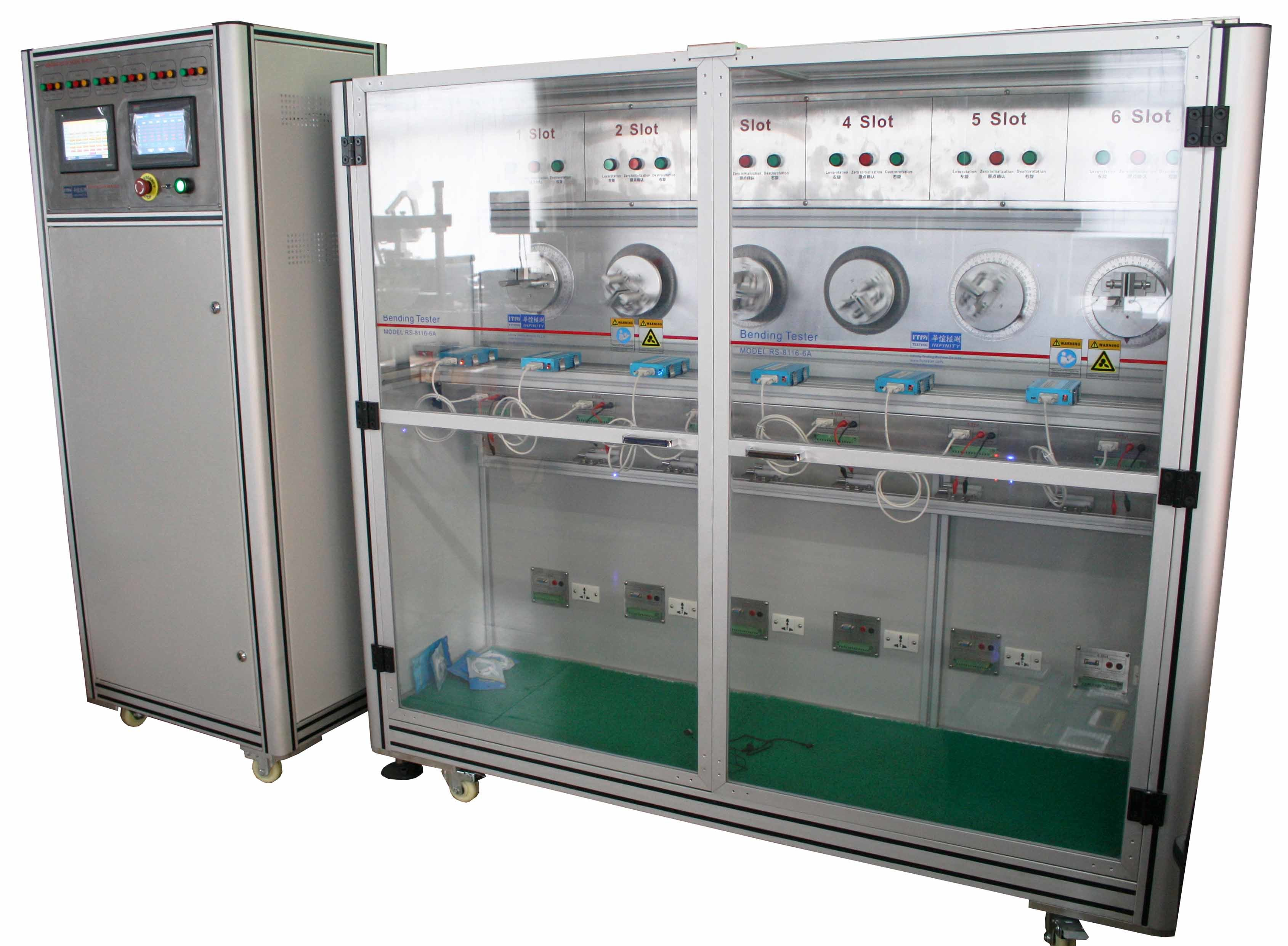 Low Noise Cable Bending Testing Machine With Panasonic Servo Motor Bending Test