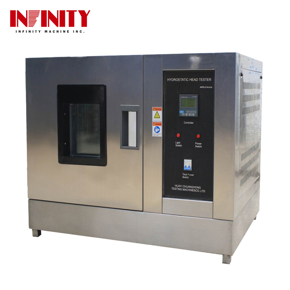Environmental Test Chamber Hydrostatic Test Chamber for Soles Standard IEC 68